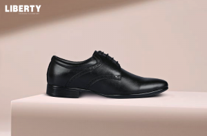 Men's Black Formal Lacing Shoes