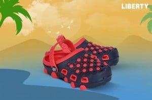 Kids Red Bin Sandal