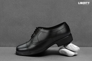 Men's Black Formal Lacing