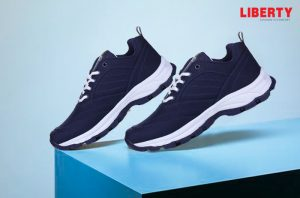 trendy blue casual shoes